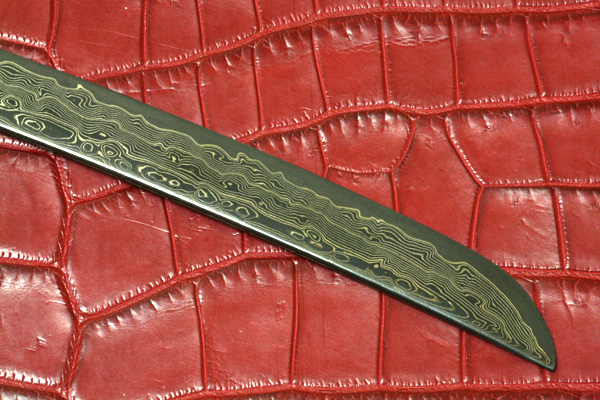 ダマスカス鋼の刃物